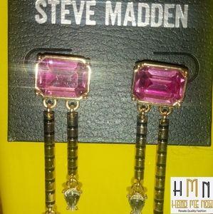 Steve Madden Drop Earrings (Never Worn)